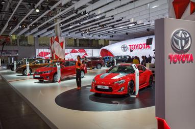 Toyota на ММАС-2014